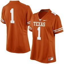 TEXAS LONGHORNS JERSEY-NIKE-AUTHENTIC STITCHED-ADULT SIZES-NWT-RETAIL$135