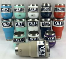 YETI Combo 30oz Rambler Tumbler with Mag Slider Lid And 10oz Wine Cup New