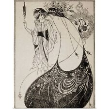 "Poster Print ""Illustrated edition from Oscar Wilde's play Salome"""