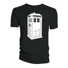 Doctor Who Ladies Tee: Glow in the Dark Tardis (Glow in the Dark)