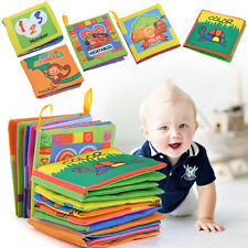 Intelligence development Cloth Bed Cognize Book Educational Toy for Kid Baby!