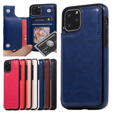 For iPhone 11 Pro Max XS MAX XR 8 7 Plus Magnetic Leather Wallet Flip Case Cover