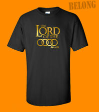 Lord Of The Rings Audi T-Shirt Tee Funny Parody Car Mens Unisex Top New Size USA