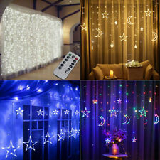 3M 3.5M Curtain LED Fairy String Lights Indoor/Outdoor Wedding Party Xmas Lights