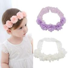 Lace Flower Kids Baby Girl Toddler Headband Hair Band Cute Accessories Head C5V2