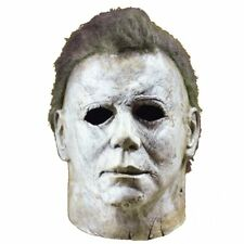 Michael Myers Mask Halloween Horror Movie Cosplay Adult Latex Full Face