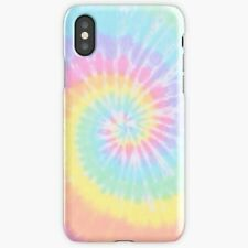 Rainbow Tie Dye Pattern For iPhone 78 Plus X XS XR XS Max Case/Cover, Snap Case