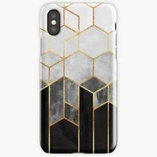 Charcoal Hexagons For iPhone 78 Plus X XS XR XS Max Case/Cover, Sparkles Case