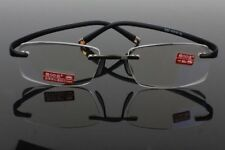 Agstum TR90 Rimless Flexible Eyeglasses Anti-radiation Reading glasses Reader