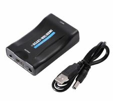 NEW Scart To HDMI 1080P Audio Video Converter Adapter for STB HDTV Sky Box UK