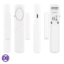 UNI COM WIRELESS BURGLAR INTRUDER DOOR WINDOW HOUSE SECURITY SAFETY ALARM SENSOR