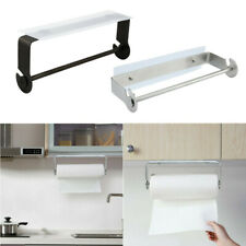 Bathroom Adhesive Paper Towel Holder Under Cabinet For Kitchen Bathroom Brushed