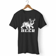 NEW BEER BEAR AND DEER MAN'S / WOMAN'S T-SHIRT USA SIZE