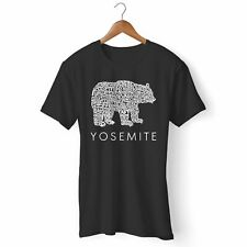 NEW YOSEMITE BEAR MAN'S / WOMAN'S T-SHIRT USA SIZE