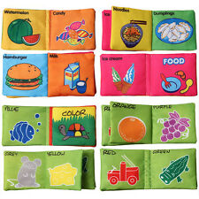 Intelligence development Cloth Cognize Book Educational Toy for Kid Baby LIJK
