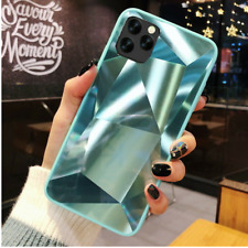 Glossy Texture Diamond Case For iPhone 11 Pro Max XS XR 8 7 6 + Hard Back Cover