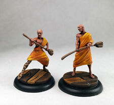 Malifaux Aspiring Students Ten Thunders / D&D monk fighter / Painted Wyrd figure