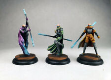 Malifaux Monks of Low River Ten Thunders / D&D fighter / Painted Wyrd miniature