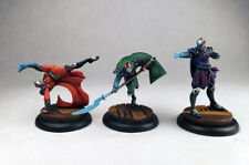 Malifaux Monks of High River Ten Thunders / D&D fighter / Painted Wyrd miniature