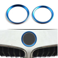 Car Front Rear Logo Surrounding Ring Sticker fit For BMW 82 mm & 74 mm Emblem