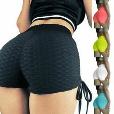 Shorts Yoga Gym Pants Fitness Women Butt Lift Compression Sport Booty To Running