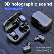 Bluetooth 5.0 Headset TWS Wireless Headphones Earphones Mini Earbuds 9D Stereo
