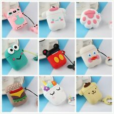 New AirPods Cute 3D Cartoon Silicone Case Cover Protective for Apple Airpod 2 US