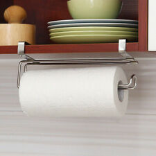 Stainless Steel Paper Towel Roll Holder Kitchen Under Cabinet Rack Hanging Home