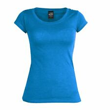 URBAN CLASSICS DAMEN T-SHIRT TOP TÜRKIS S - XL NEU !