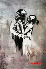 Banksy - Think Tank Photo Art Print