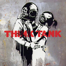 Banksy - Think Tank Canvas Urban Art Print