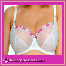 Angel White Bra Made by Full-filled, Underwired, Non Padded, Size 30DD - 42JJ