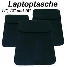 Laptoptasche Notebooktasche Netbook Laptop Schoner Softcase Case Tasche schwarz