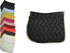 HKM Padded Absorbent Comfort Saddlecloth Dressage/GP with Binding