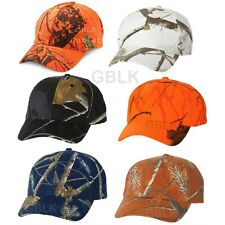 Kati Structured Camo Cap SN200 Mossy Oak Blaze Orange Realtree AP Snow White Hat