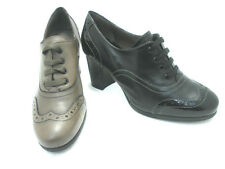 SCARPE DONNA MELLUSO FRANCESINA L5100  PELLE NERO  E MOUSSE MADE IN ITALY SHOES