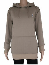 NEW Plongee womens Size S M L brown pullover hoodie