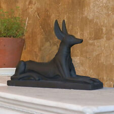 Anubis Egyptian God 16 l  x 12.5 h Animal Ornament Figure Sculpture Statue New