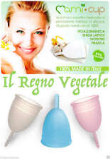 MAMI CUP Coppetta Mestruale MADE in ITALY Ecologica Vegan Economica MAMICUP