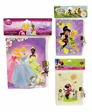 DISNEY SECRET DIARY 45 SHEETS LOCKABLE GIRLS SCHOOL STATIONERY DISNEY PRINCESS