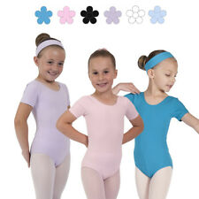 Megan COTTON BALLET LEOTARD Short Sleeved Dance Leotard Ballet Uniform RAD Style
