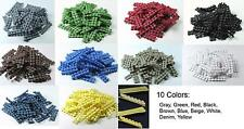 100 Non Slip Grips hair clips liners for hair clips bows barrettes 10 colors