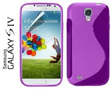 SLINE WAVE GRIP GEL CASE COVER SKIN FOR SAMSUNG GALAXY S4 SIV i9500 - GALAXY SIV