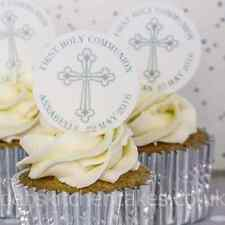 First Holy Communion Cupcake Toppers - Personalised Holy Communion Cakes