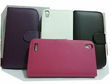 FLIP LEATHER WALLET CASE CARD HOLDER COVER FOR HUAWEI ASCEND P6