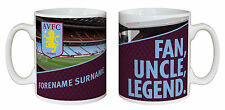 Personalised Aston Villa FC Family Legend Mug Any Name Great Gift Idea - New