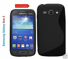 S-LINE WAVE GEL CASE COVER SKIN FOR SAMSUNG GALAXY ACE3