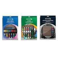 Reeves Complete Sketching, Watercolour or Acrylic Gift Art Sets - Free Delivery