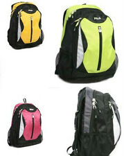 FILA ~ SENNA 15.6-in. Laptop Backpack ~ AVAILABLE IN ~ GREEN / YELLOW / PINK