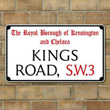 Old London Street Sign Metal Road Sign Any London Road / Street or Personalised